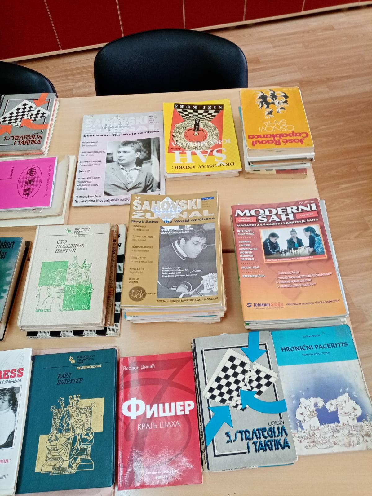 Donirane knjige od porodice Spijunovic